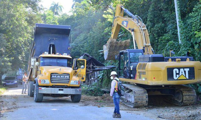 Reinician trabajos de carretera turística que conectará a Santiago con Puerto Plata